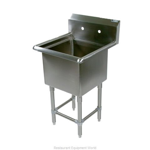 John Boos 1PB1824 Sink, (1) One Compartment