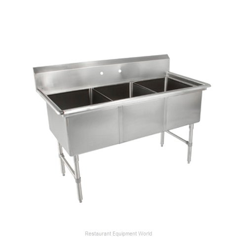 John Boos 3B244 Sink 3 Three Compartment