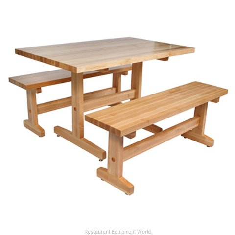 John Boos AM-FARM-TR-3060 Table Dining Height Indoor (Magnified)