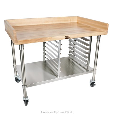 John Boos BAK03 Work Table, Bakers Top