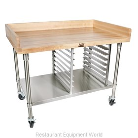 John Boos BAK04 Work Table, Bakers Top