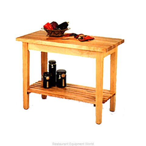 John Boos C01-O Work Table, Wood Top