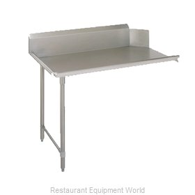 John Boos CDT4-S108SBK-L Dishtable, Clean Straight