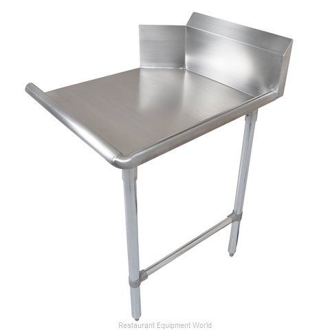 John Boos CDT6-S144SBK-R Dishtable, Clean Straight (Magnified)