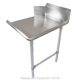 John Boos CDT6-S60SBK-R Dishtable, Clean Straight