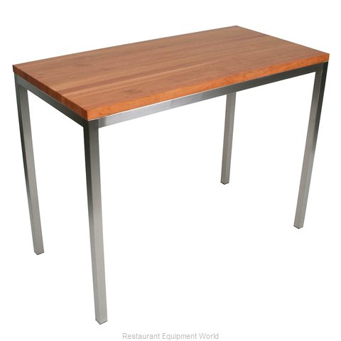 John Boos CHY-MET-CNTR4824 Table, Utility (Magnified)