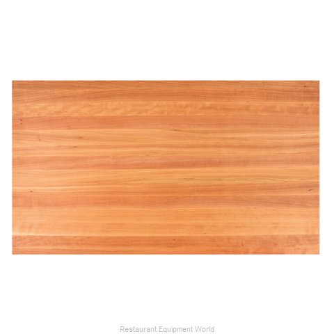 John Boos CHYKCT3-8436-V Countertop (Magnified)