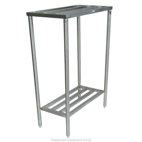 John Boos CLR04 Shelving Unit Tubular