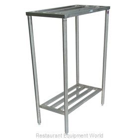 John Boos CLR07 Shelving Unit, Tubular