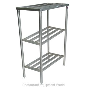 John Boos CLR21 Shelving Unit, Tubular