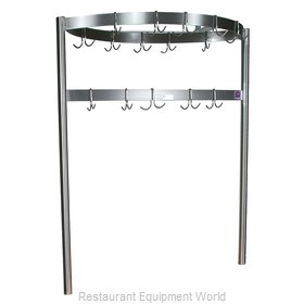 John Boos CPRB01 Pot Rack, Table-Mounted
