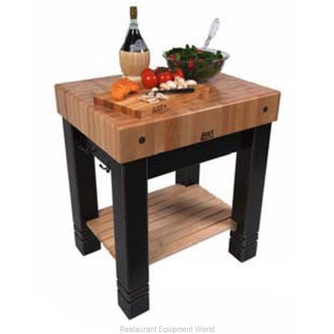 John Boos CU-BB3024-N Butcher Block Unit