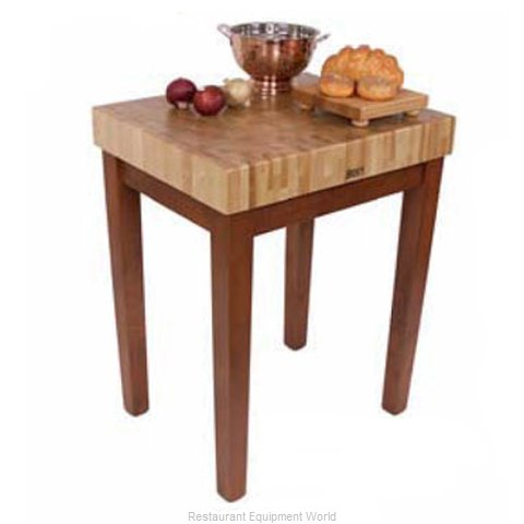 John Boos CU-CB3024-N Butcher Block Unit (Magnified)