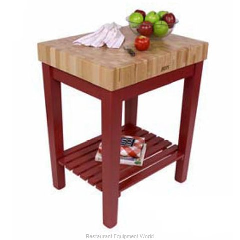John Boos CU-CB3024S-N Butcher Block Unit (Magnified)