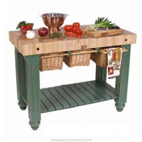 John Boos CU-GB4824-N Butcher Block Unit