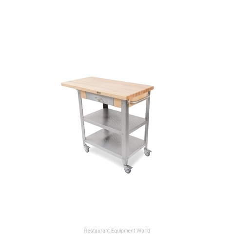John Boos CUCE40 Thick Hard Maple Top Butcher Block Table