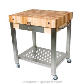 John Boos CUCT24 Thick Hard Maple Top Butcher Block Table