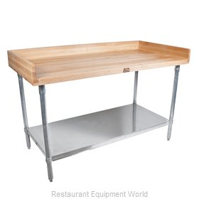 John Boos DNS13 Work Table, Bakers Top