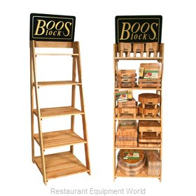 John Boos DRACKB6 Merchandising Rack