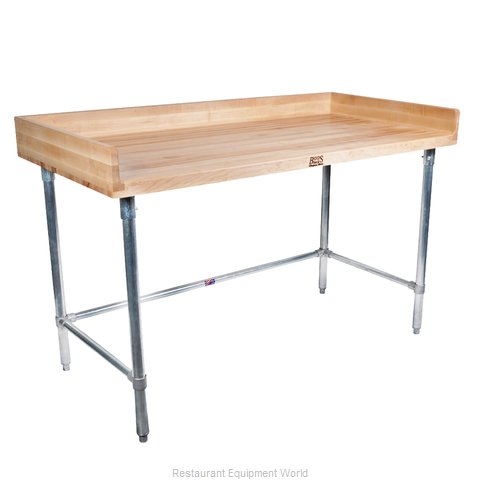 John Boos DSB07 Maple Top Butcher Block Table