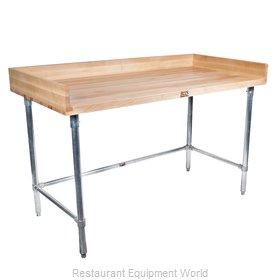 John Boos DSB08-X Work Table, Bakers Top