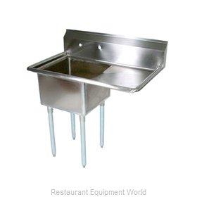 John Boos E1S8-15-14R15-X Sink, (1) One Compartment