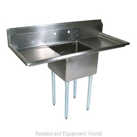 John Boos E1S8-15-14T15 Sink, (1) One Compartment
