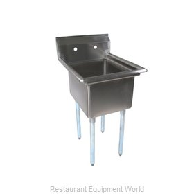 John Boos E1S8-1620-12 Compartment Sink
