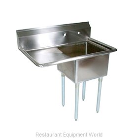 John Boos E1S8-1620-12L18-X Sink, (1) One Compartment