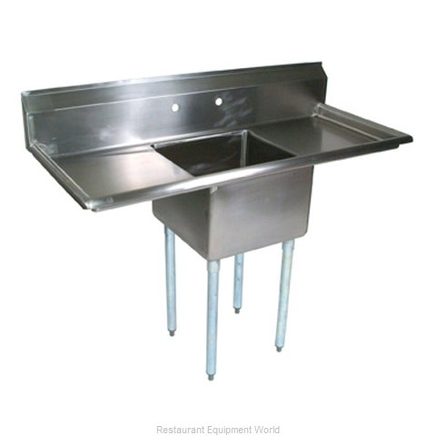 John Boos E1S8-1620-12T18 Compartment Sink (Magnified)