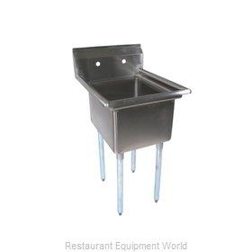 John Boos E1S8-18-12-X Sink, (1) One Compartment