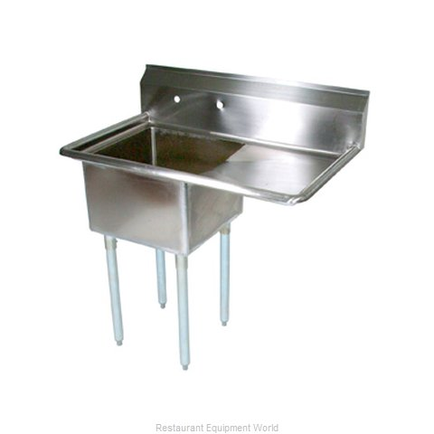 John Boos E1S8-1824-14R24 Sink 1 One Compartment