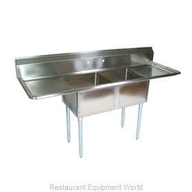 John Boos E2S8-24-14T24 Compartment Sink