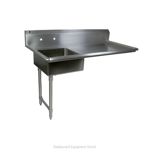 John Boos EDTS8-S30-50UCL Dishtable, Soiled, Undercounter (Magnified)