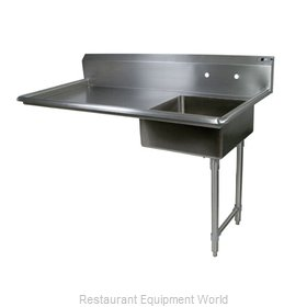John Boos EDTS8-S30-50UCR Dishtable Soiled Undercounter Type