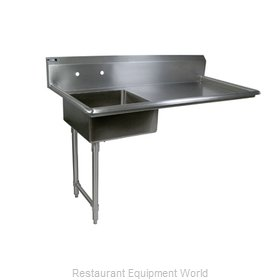 John Boos EDTS8-S30-60UCLX Dishtable, Soiled, Undercounter Type