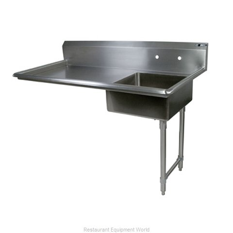 John Boos EDTS8-S30-60UCR Dishtable Soiled Undercounter Type