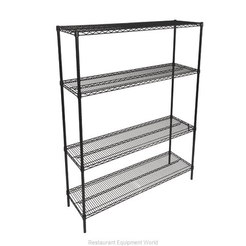 John Boos EP-144874-BK Shelving Unit, Wire (Magnified)