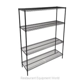 John Boos EP-244866-BK-X Shelving Unit, Wire