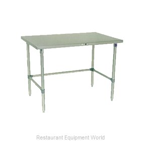 John Boos ESS106A Work Table 84 Long Stainless Steel Top