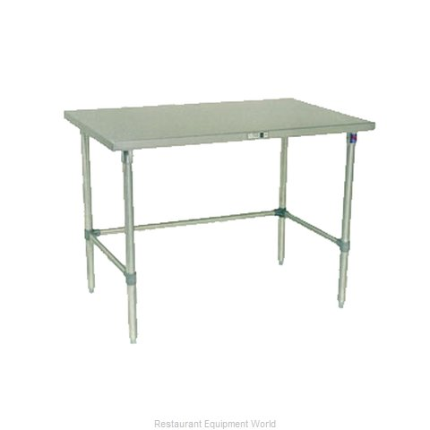 John Boos ESS110 Work Table 48 Long Stainless Steel Top