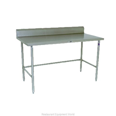 John Boos ESS128 Work Table 60 Long Stainless Steel Top