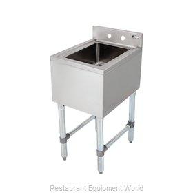 John Boos EUBDS-1014-SL-X Underbar Sink Units