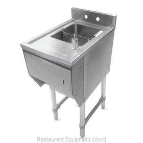 John Boos EUBDS-1221STD-X Underbar Sink Units