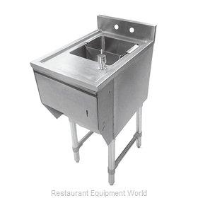 John Boos EUBDS-1518STD-X Underbar Sink Units