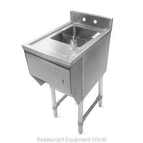 John Boos EUBDS-1521STD-X Underbar Sink Units