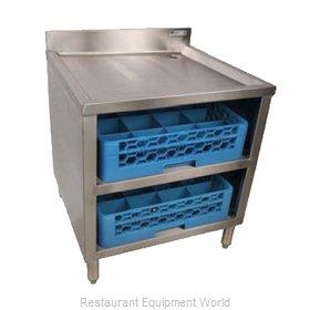 John Boos EUBGRS-24-2 Underbar Glass Rack Storage Unit