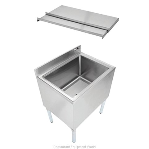 John Boos EUBIB-4821CP7 Underbar Ice Bin Cocktail Station