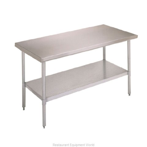 John Boos FBLG6030SHF Undershelf for Work Prep Table