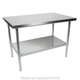 John Boos FBLG7224-X Work Table,  63